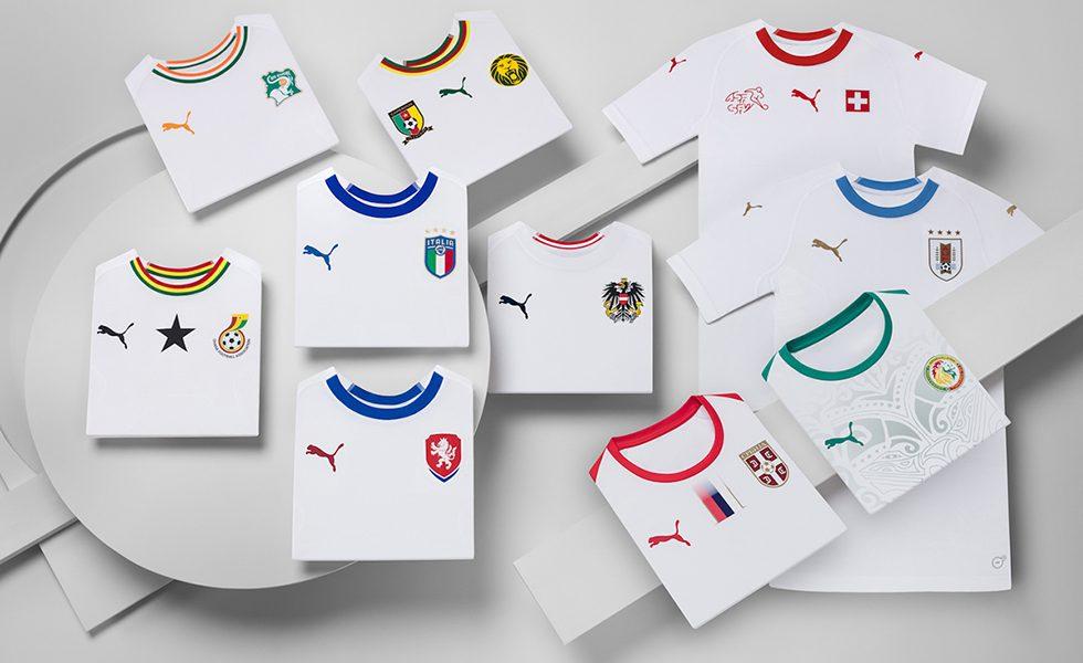 Nazionali: svelate le maglie Away Puma per il 2018