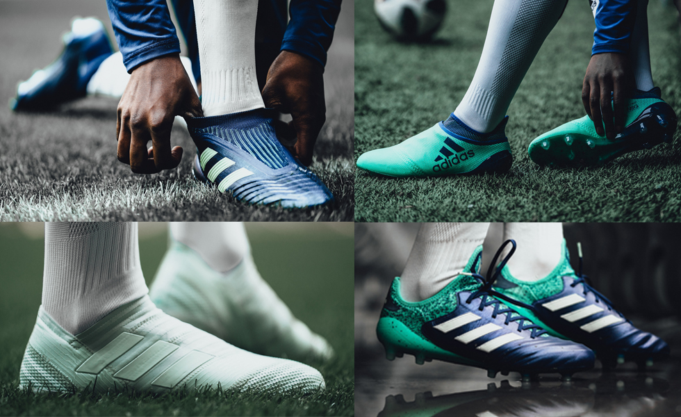 Primavera in blu, Adidas lancia il Deadly Strike Pack