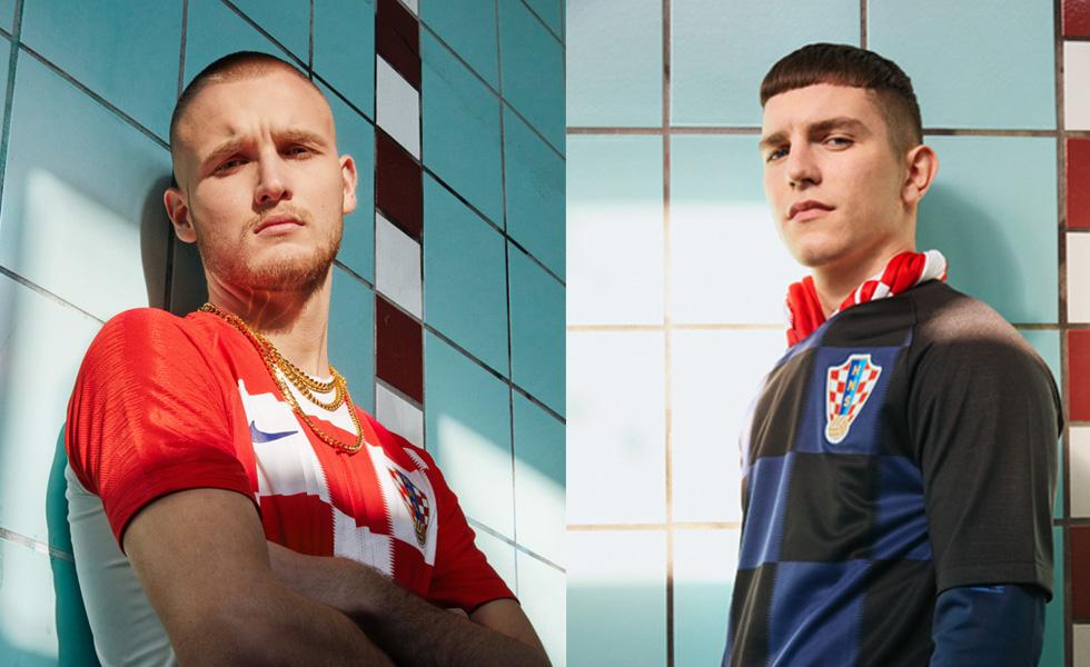 Scacchi matti: le maglie della Croazia per i mondiali