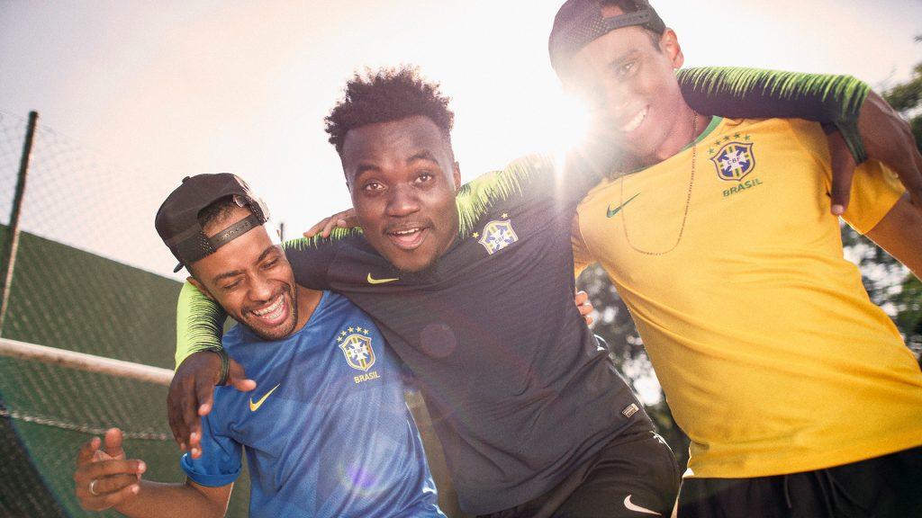 maglia away brasile 2018
