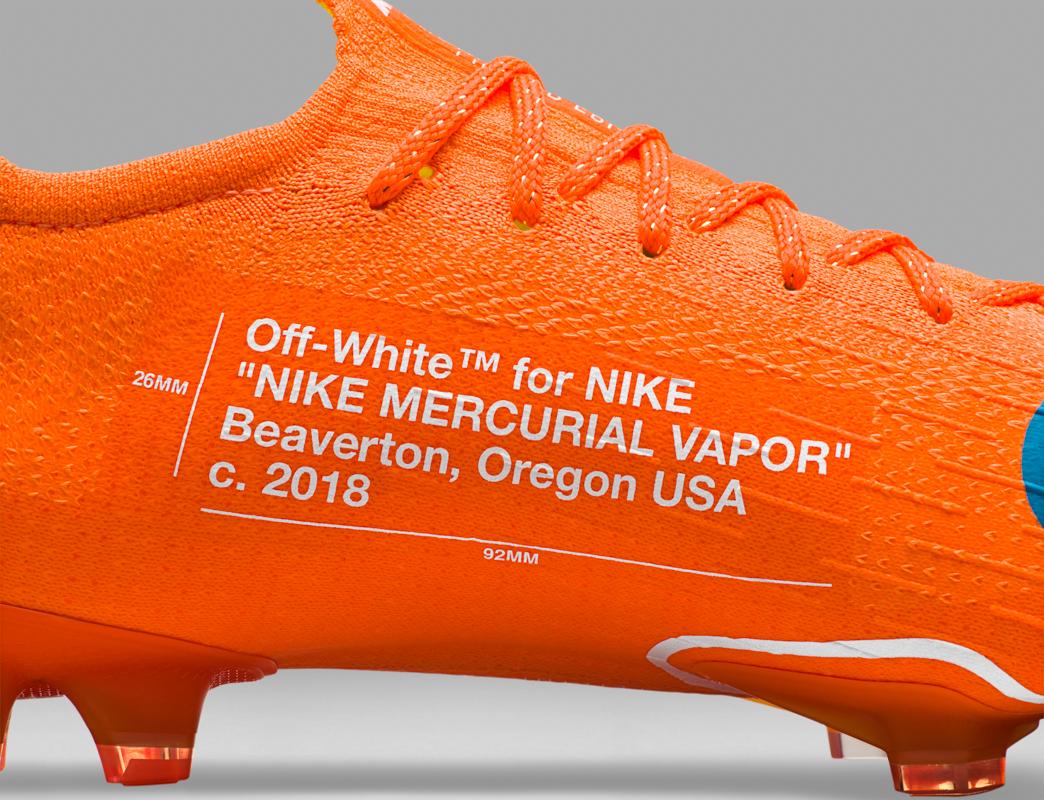 Calcio \u0026 Design: Nike Mercurial Vapor 360 Virgil Abloh