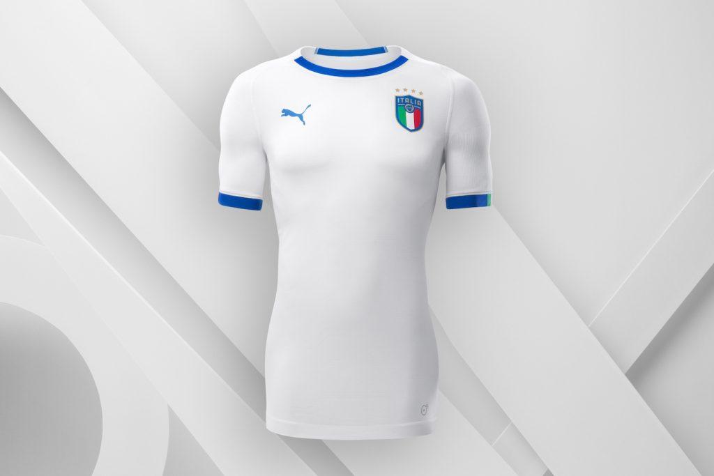 maglia away italia 2018