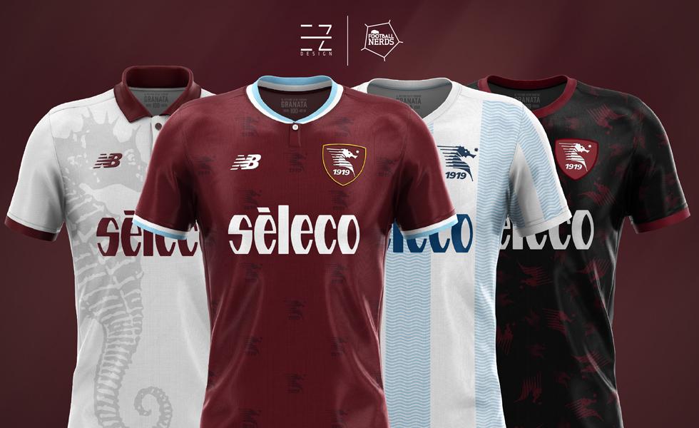 I Concept Kit delle Maglie della Salernitana 2018 2019 by EZ Design