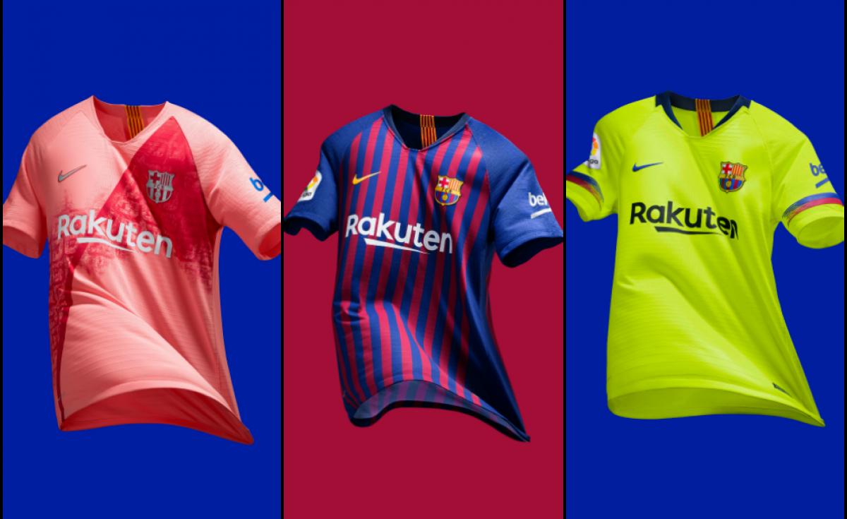 Nike, le maglie del Barcellona 2018/19