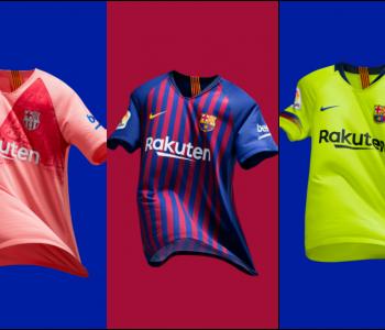 Maglia Home FC Barcelona 2018