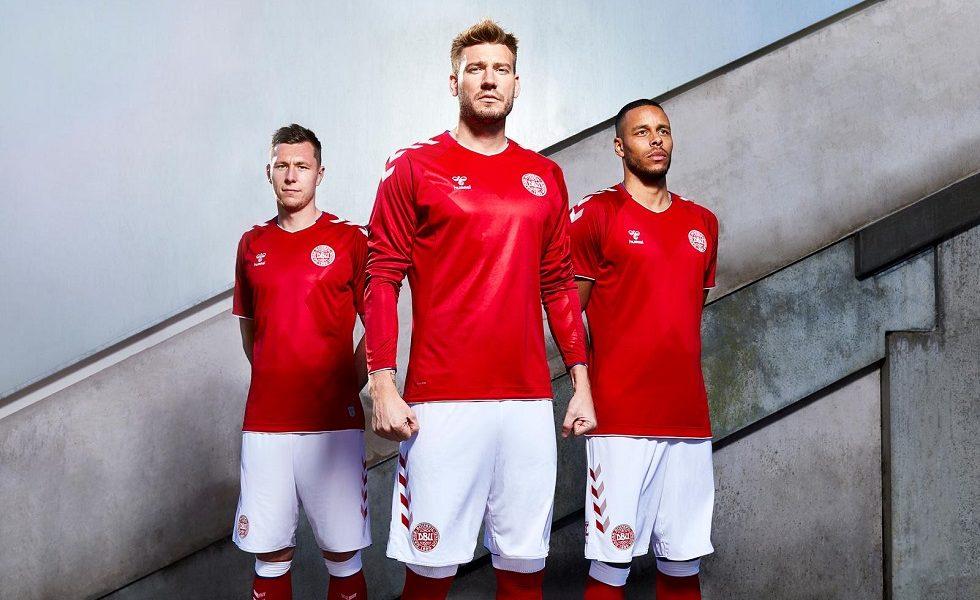 Danimarca al top con Hummel, ecco le maglie mondiali