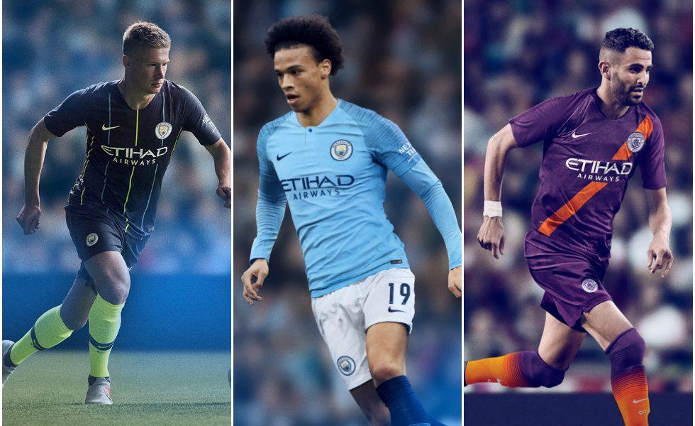 Nike, ecco le maglie del Manchester City 2018/19