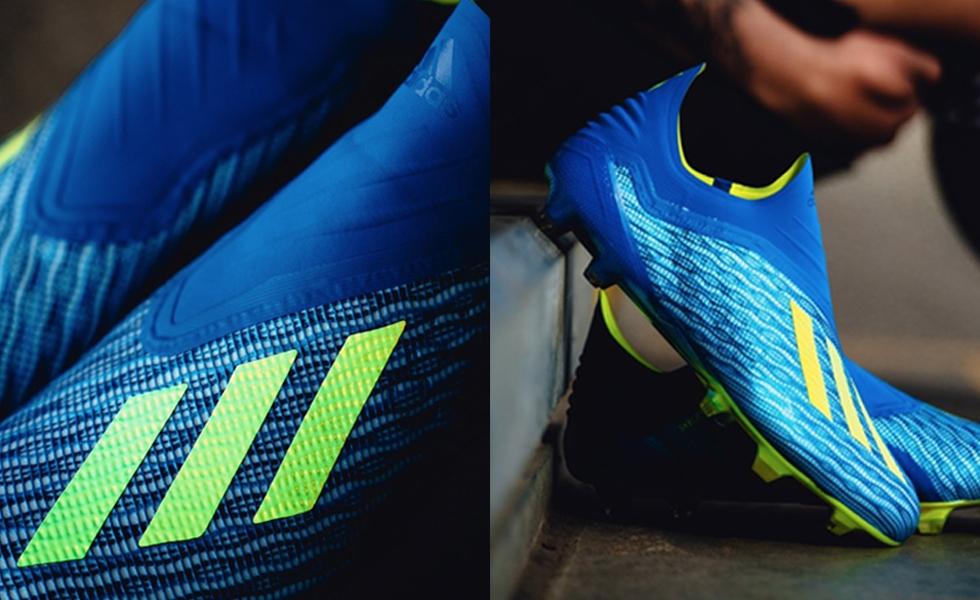 Adidas svela le nuove X 18+ senza lacci