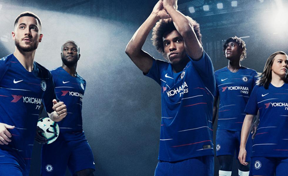 Nike svela la maglia del Chelsea 2018/19: ispirazione retrò