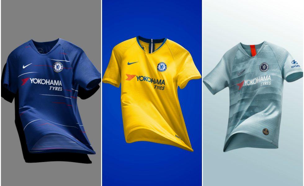 Vintage & tech: Nike svela le tre maglie del Chelsea 2018/19