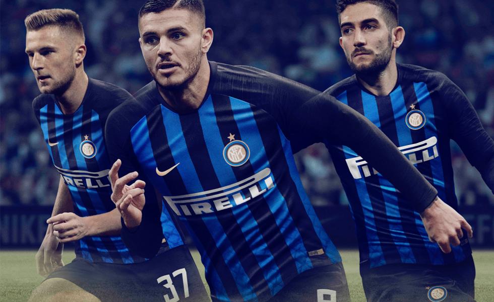Nike lancia la maglia home dell'Inter 2018 2019