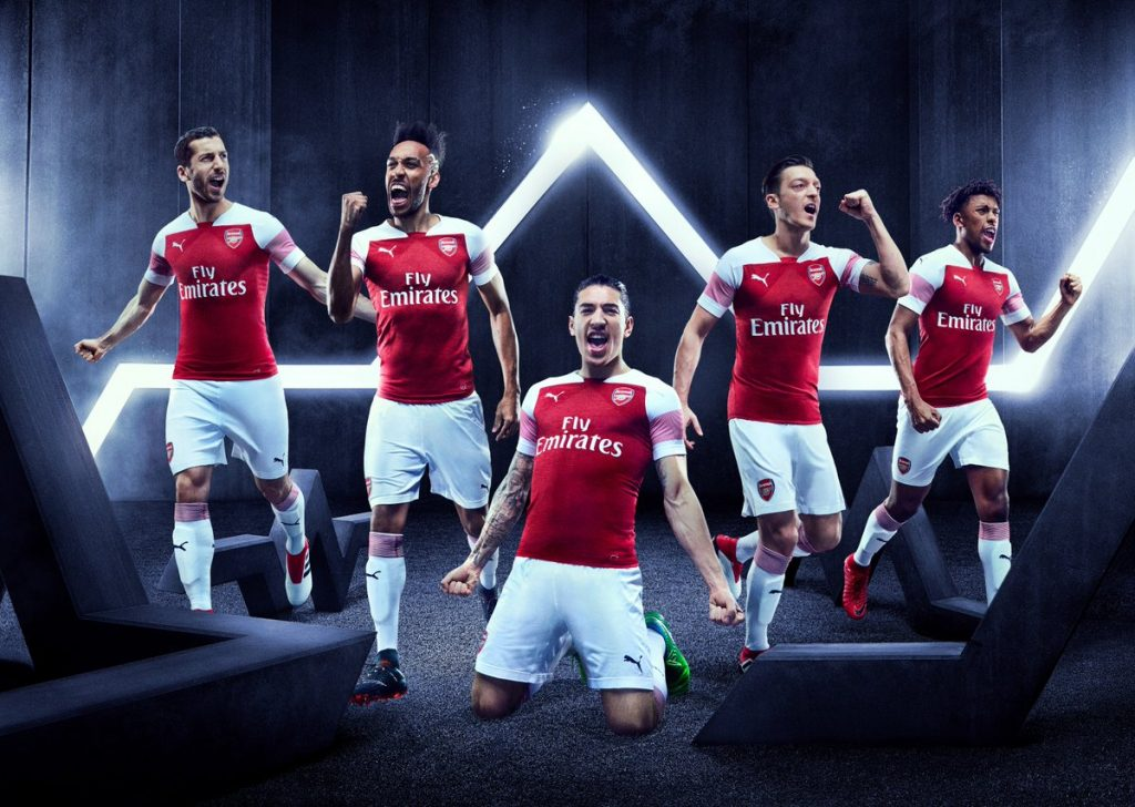 maglie arsenal 2018 2019