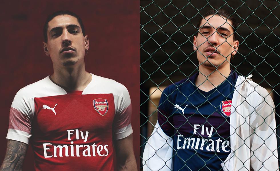 Puma, le maglie dell'Arsenal 2018/19