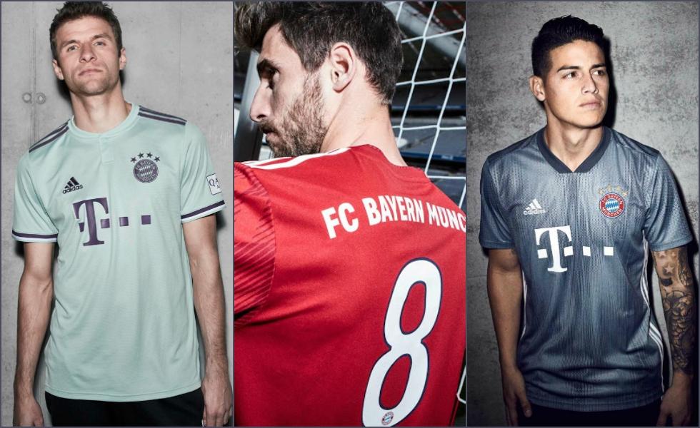 Terza Maglia Home FC Bayern München personalizzata