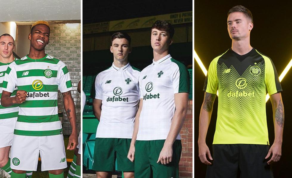 New Balance lancia la Maglie del Celtic 2018 2019