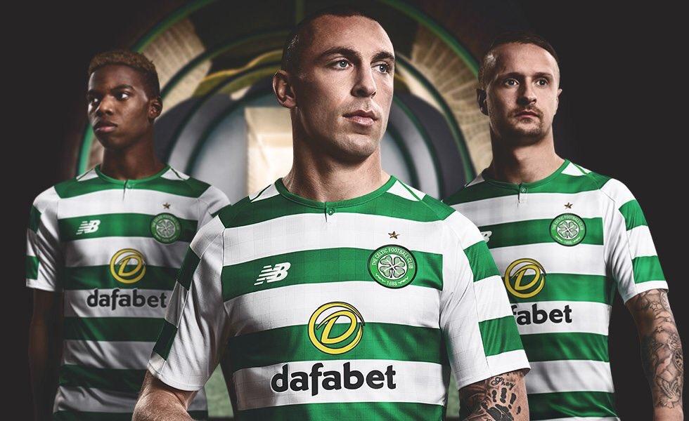 New Balance lancia la Maglia Home del Celtic 2018 2019