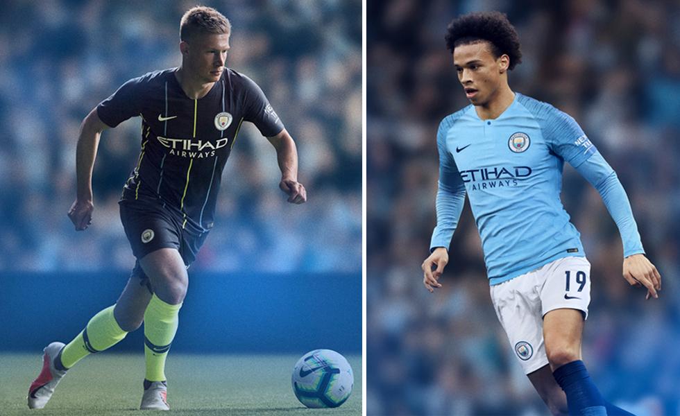 Nike lancia le maglie del Manchester City 2018/19