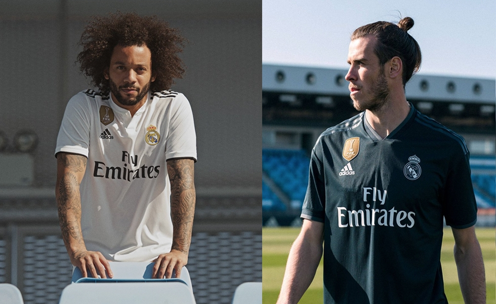 Real Madrid, presentate le maglie 2018/19