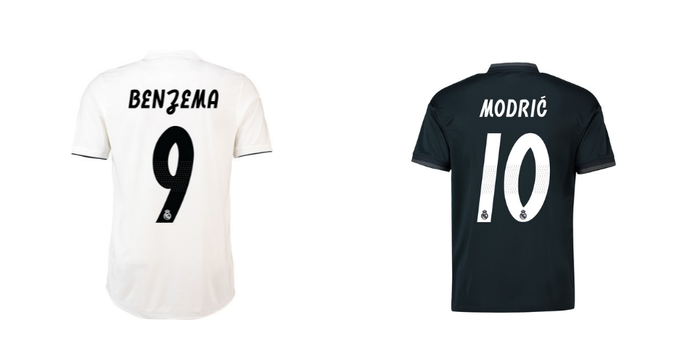 maglie real madrid 2018 2019