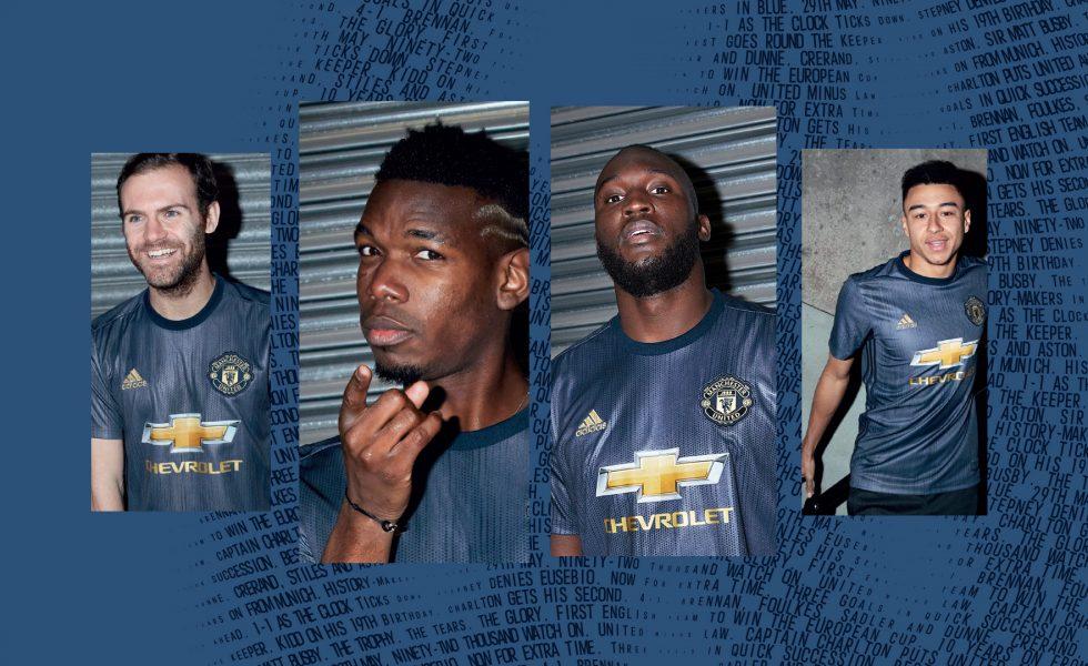 Presentata la terza maglia del Manchester United 2018/19