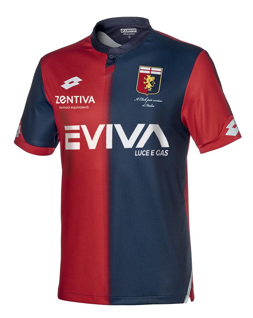 Maglie Serie A 2018 2019 Genoa 1