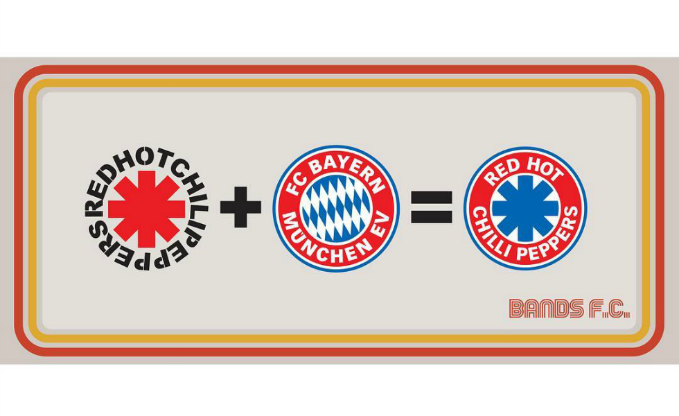 Musica & calcio: i loghi di Bands FC