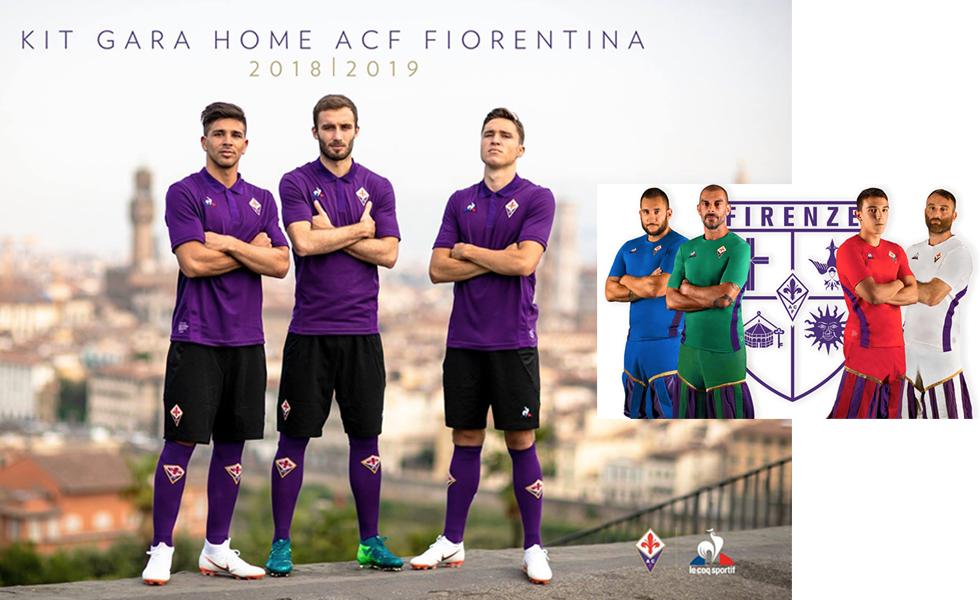 Le maglie della Fiorentina 2018/19, tributo ai favolosi anni '70