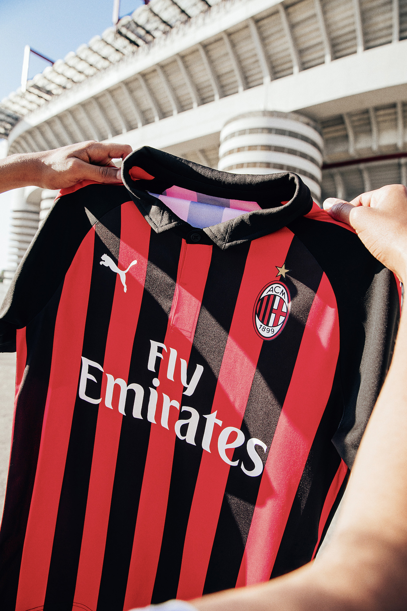 maglie milan 2018 2019 home