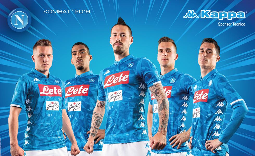 Le maglie del Napoli 2018 2019: Il ruggito della Pantera