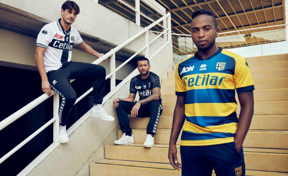 Erreà, le maglie del Parma 2018-2019 (FOTO)