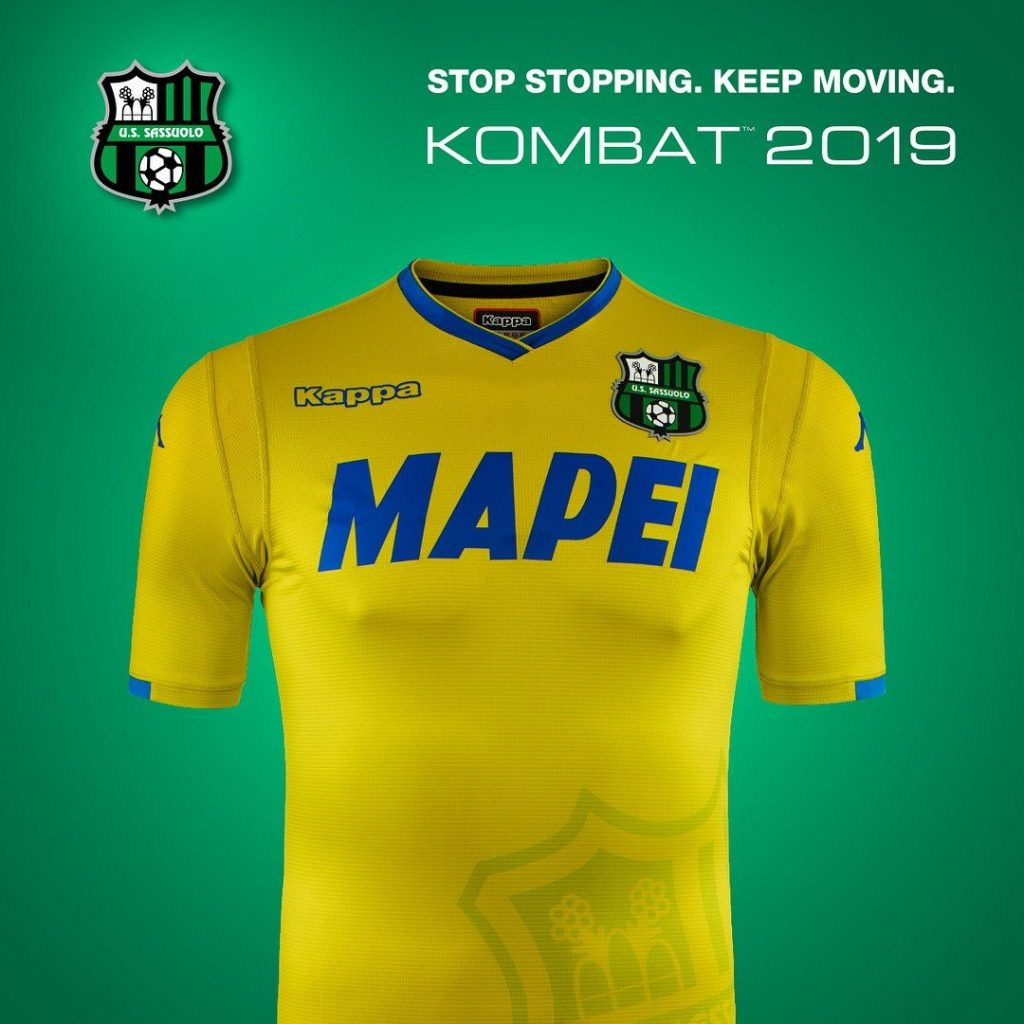 maglie serie a 2018 2019 sassuolo 3rd