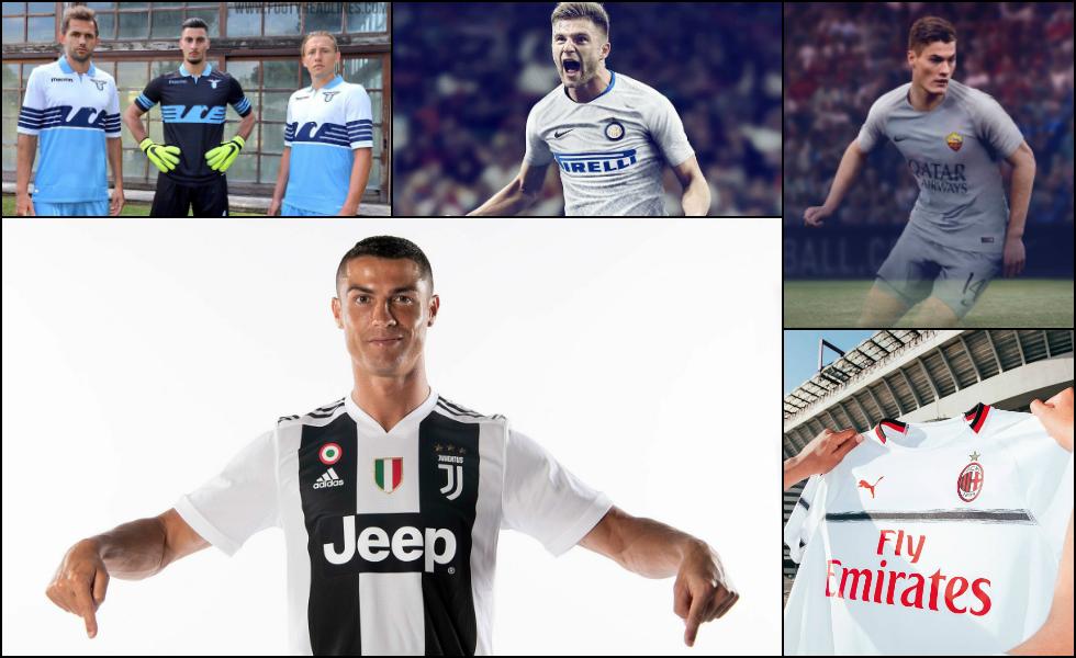 Tutte le maglie della Serie A 2018-2019