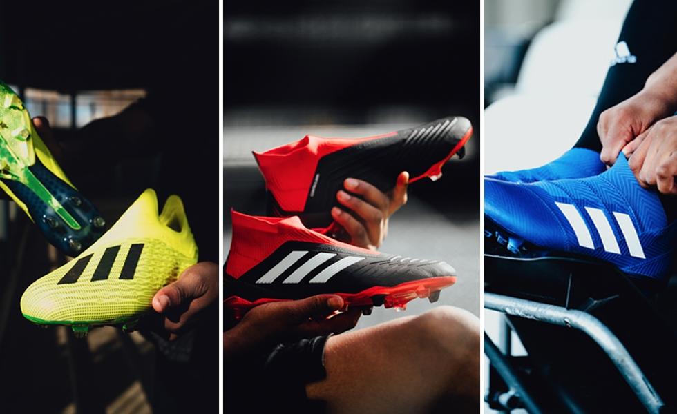 Adidas, le nuove colorazioni Team Mode Pack