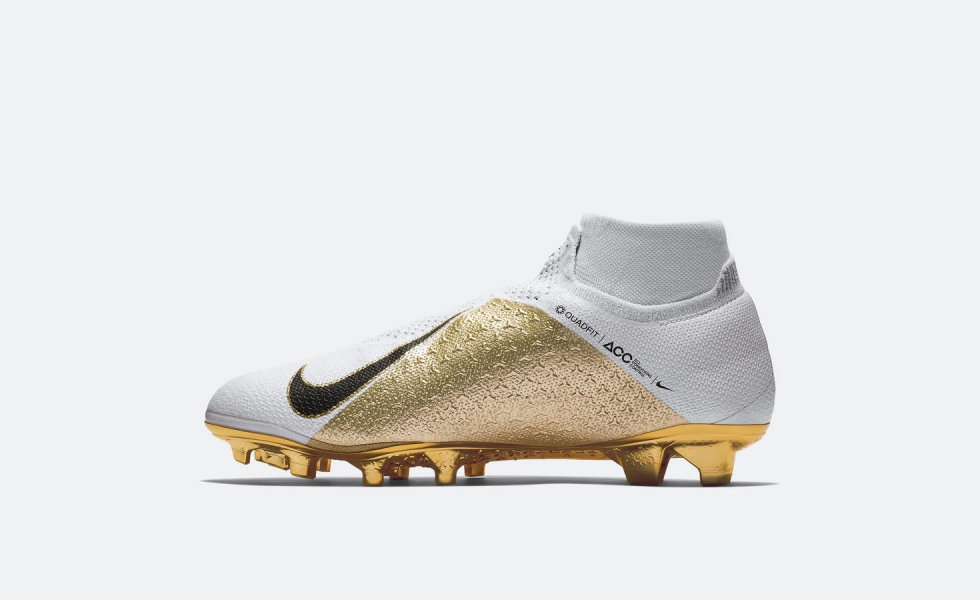 Nike Phantom VSN Gold, limited edition