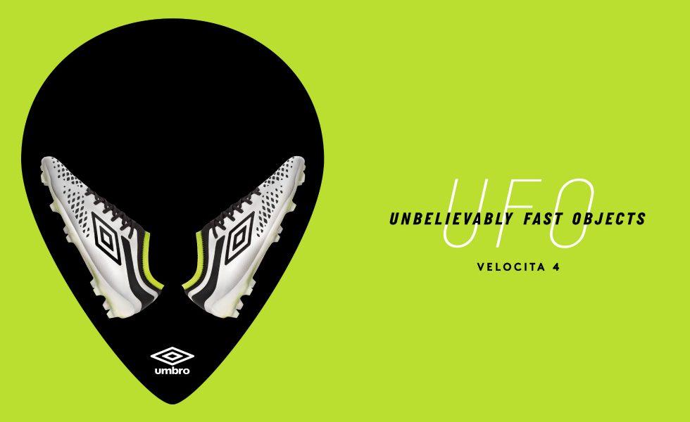Umbro Velocita 4 Pro, un Ufo targato Manchester