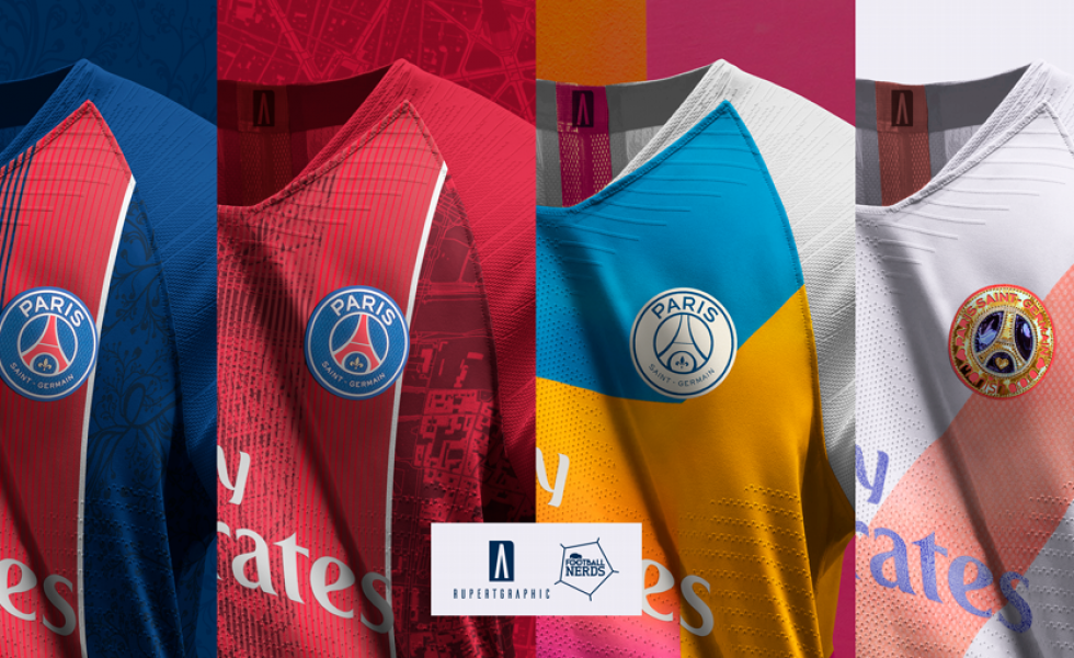 I concept kit del PSG 2019 by Rupertgraphic