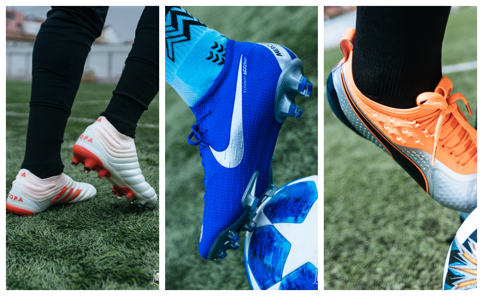 Le scarpe da calcio più importanti del 2018