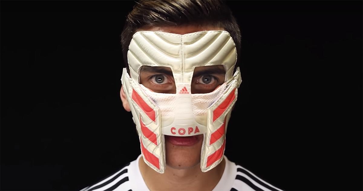 adidas paulo dybala mask