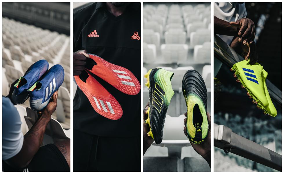Adidas si schiera con i Creators: ecco l'Exhibit Pack