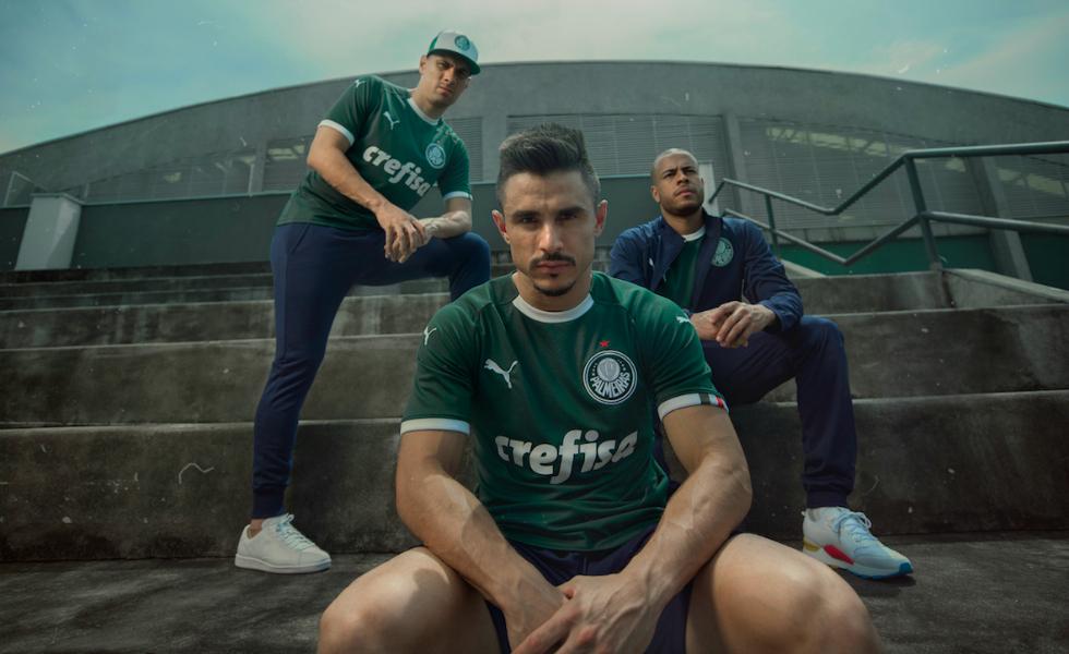 Puma, svelate le maglie del Palmeiras 2019