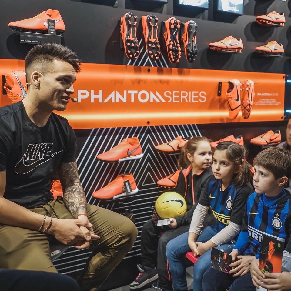 intervista lautaro martinez scarpe da calcio