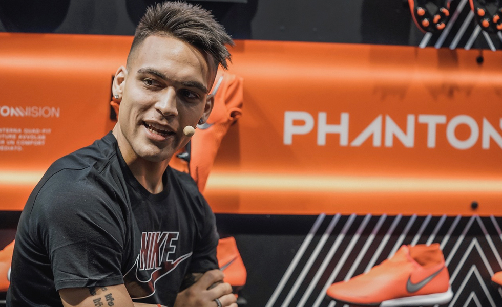 Lautaro Martinez e le Nike Phantom Venom: l'intervista