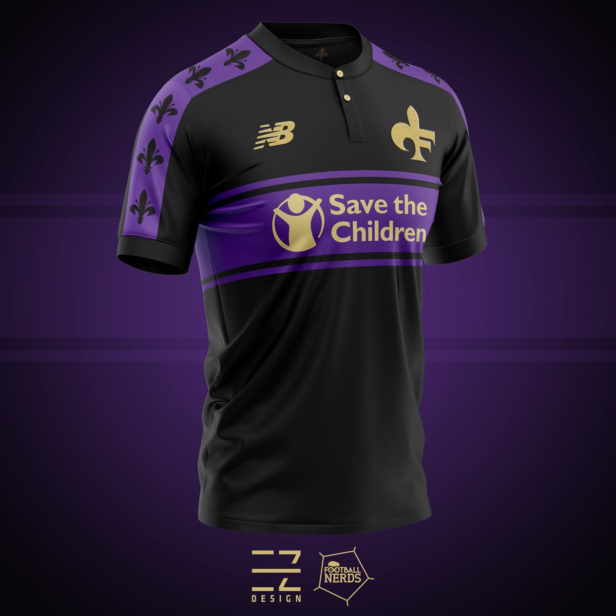 Concept Kit maglia Fiorentina 2019 2020 - New Balance