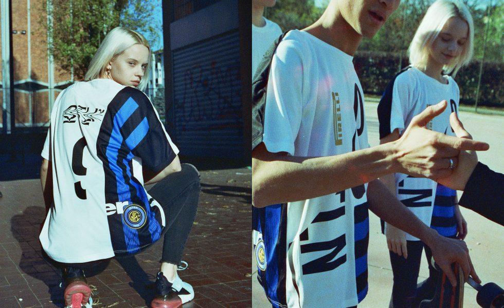 La maglia streetwear dell'Inter di OTLN Studio