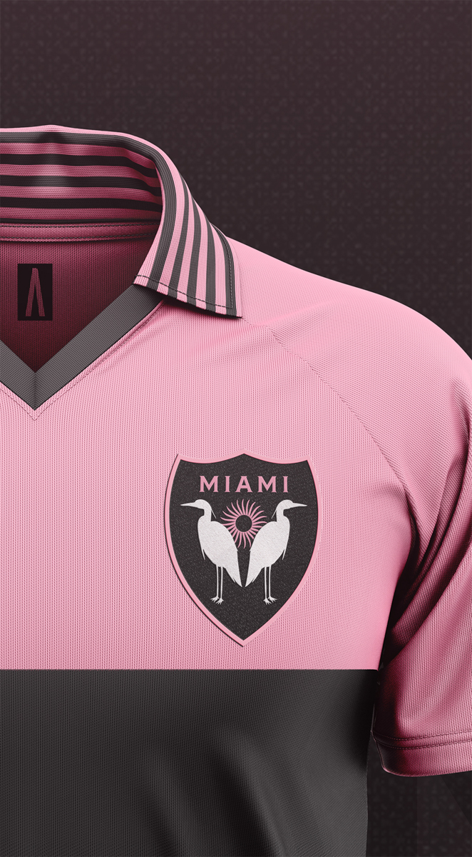 maglie concept kit inter miami vintage