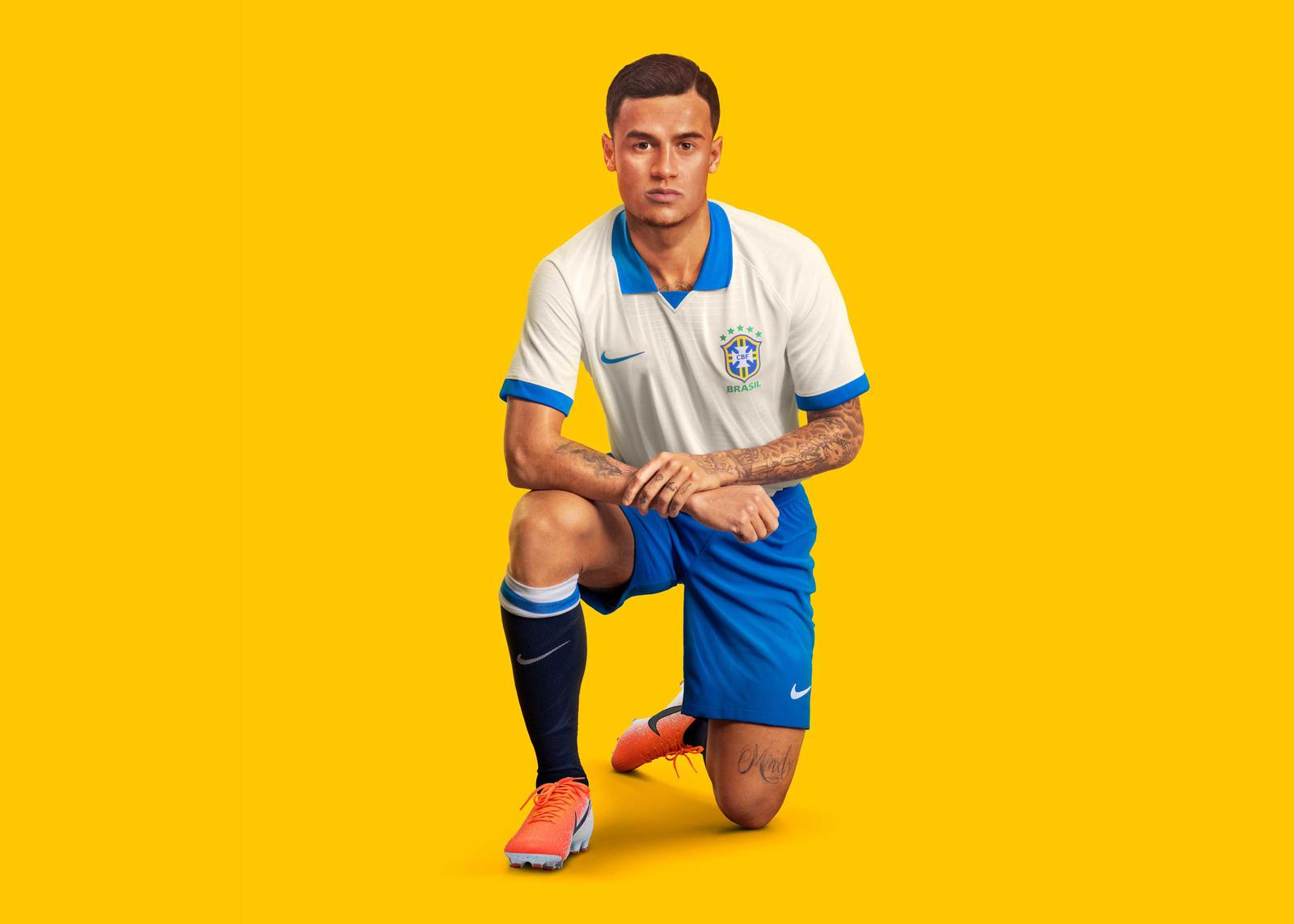 ike maglia bianca brasile 2019