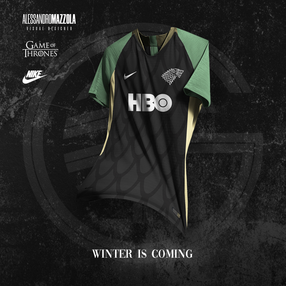 maglie calcio game of thrones