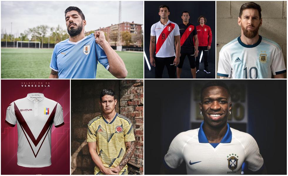 Tutte le Maglie della Copa America 2019