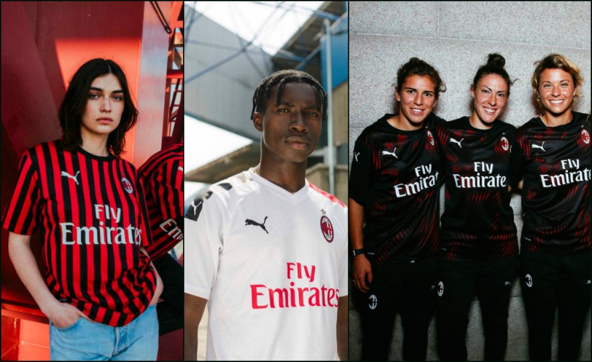 Puma, le tre maglie del Milan 2019/20