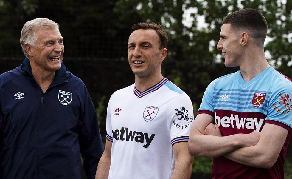 Umbro, ecco le nuove maglie del West Ham 2019 2020